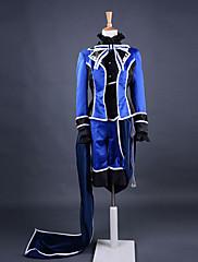 Inspirovaný Black Butler Ciel Phantomhive Anime Cosplay kostýmy Cosplay šaty Patchwork Niebieski Dlouhé rukávyKabát / Tričko / Kalhoty /