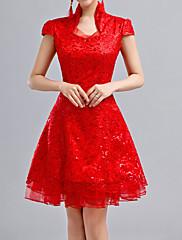 Lady Antebellum v čínském stylu ruční límec Cheongsam