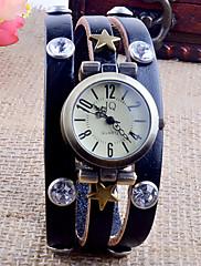 エレガントな本革調節可能な腕時計