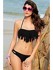 Sexy Halter Bikini Set střapce