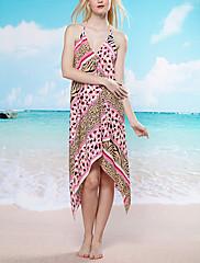 Bohemia Leopard Beach Swim šaty