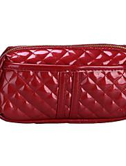 Patent Leather Diamond vzor kosmetická taška
