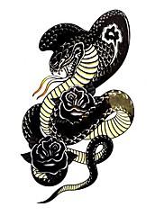 5 ks had Vodotěsné Dočasné tetování (10,5 cm * 20,5 cm) HM563
