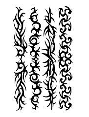 5 ks Totem Vodotěsné Dočasné tetování (10,5 cm * 20,5 cm) HM315