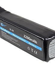 BQY Hot Napájení 11,1 V 2200mAh Li-Po Li-Polymer dobíjecí baterie