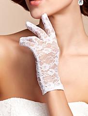Très beaux gants de dentelle raffinée