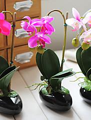 Arreglo floral 11 'h orquídea mariposa (color enviado aleatoriamente)