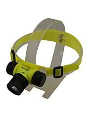 Huntereyes 3モードCREE LEDのダイビング懐中電灯(200LM、1x18650/3xAAA、グリーン)
