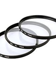 ブラック - キヤノン/ニコン/ソニー一眼レフなどのためにスターフィルターX 77ミリメートル4点+6点+8点3枚組み合わせスーツ