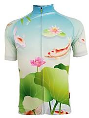 Getmoving ® Dámský prodyšný materiál s krátkým rukávem cyklistický dres