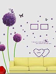 Frankie ™ maslačak sade cvijeće DIY prijenosnih zidne naljepnice