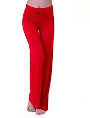 vysoký pas Pure Color nastavitelné jóga kalhoty