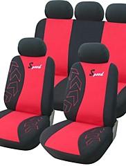 9 kom Set Car Seat Covers Universal Fit Auto oprema