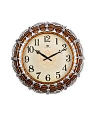 """19.2 """"H Klasická Reliéfní kolo bronz Nástěnné hodiny"""