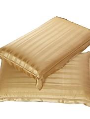 sweet-dobromyslně home®men klasickou 100% hedvábí Jacquard povlak na polštář 1 ks