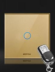 kopou現代的なスタイルのガラスタッチスイッチ(リモコン付きタッチ)