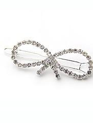 móda plná diamantového bowknot vlásenky