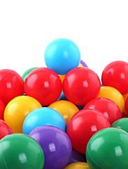 水プールのおもちゃを再生する20 PCカラフルなプラスチックの海のボール(ランダムカラー)
