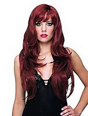 舞台は化粧セミ女性のヘア赤褐色のかつらをマスカレード