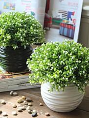 """9 """"simulazione h stile rurale di milano fiori con palla ondulato vaso di ceramica"""