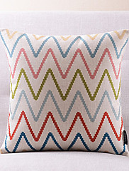 平和はコットン/リネン装飾的な枕カバーを愛する