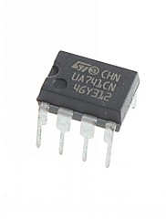 UA741 UA741CN DIP-8 Integrated Circuits  IC (10pcs)