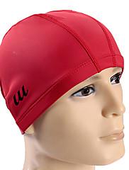 Youyou unisex pu vodotěsný protiskluzová ochrana na vlasy ucho OCHRA nositelné koupací čepice