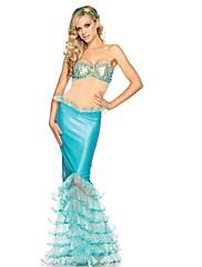 sexy elf víla mořská panna hrdiny oblečení ženy Halloween kostým