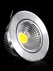 レトロフィット5コブ400〜500ルーメン温白色調光可能なAC 220 Vを埋め込み式の天井照明/ LEDパネルのライトを導きました