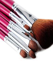 msq®7pcs růže makeup kartáč set
