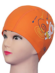 cartoon ochrana Youyou dětský vodotěsný ucho nositelné pu koupací čepice