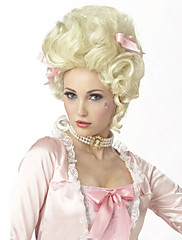 Marie Antoinette Halloween Masquerade Party Short Curly Hair Wig