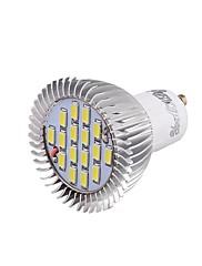 8W GU10 LED bodovky 16 SMD 5630 650 lm Chladná bílá Ozdobné V 1 ks