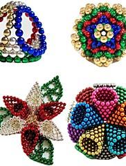 222pcs 5mm DIY buckybally NeoCube a buckycubes magnetické bloky koule hračky šest různých barev