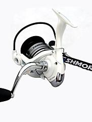 FISHMORE MT5000 4.7:1 10 ボールベアリング 海釣り/スピニング/川釣り/バス釣り/ルアー釣り/一般的な釣り/船釣り スピニングリール 交換可能