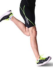 男性用 ランニング ショートパンツ / レギンス / 圧縮スーツ ヨガ / ピラティス / フィットネス / レーシング / レジャースポーツ / バドミントン / バスケットボール / ランニング高通気性 / 速乾性 / wicking / ビデオ圧縮 /
