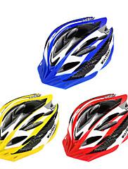 男女兼用 - サイクリング/マウンテンサイクリング/ロードバイク/レクリエーションサイクリング - マウンテン/ロード - ヘルメット ( イエロー/レッド/ブルー , PC/EPS ) サイクリング/マウンテンサイクリング/ロードバイク/レクリエーションサイクリング 29