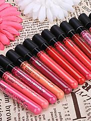 女性のファッション専門の長期的な化粧唇ペン防水水分液体唇グロスペンシル