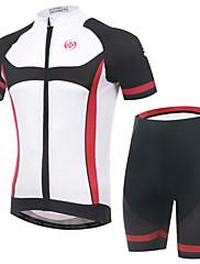 Prodyšné/Propustnost vůči vlhkosti/wicking/Reflexní pásky/Zadní kapsa - Krátké rukávy - Pánské - Cyklistika - Obleky ( Viz fotografie )