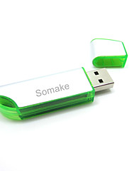 USB 2.0 flash drive 64GB (boja: narančasta, prazan, crvena, plava, zelena)