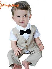 ボーイの コットン シャツ/パンツ/スーツ&ブレザー/ベスト/アンサンブル , 夏 半袖