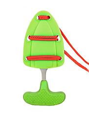 otvoreni opstanak samoobrane mini gurnuti bodež / punch nož s koricama&lanyard (slučajni boja)