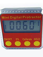 Obě strany kovové magnety nástroj úroveň digitální úhloměr zkosení box elektronický úhloměr