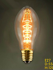 E27 40W C55 Edison žarulje restoran Edison vjenčanje metak centar trgovine ukrasna svjetiljka volfram ovdje