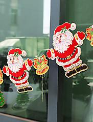パーティーの休日のホームderacotionためのクリスマス吊りフラグサンタクロースの形状を