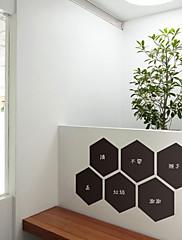 黒板 / ファッション / 抽象 ウォールステッカー 黒板ウオールステッカー , Vinyl stickers 20*23cm