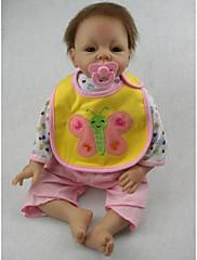 npkdoll生まれ変わった赤ちゃん人形柔らかいシリコーン22inchの55センチメートル磁気口本物そっくりのかわいい素敵なおもちゃの女の子の蝶