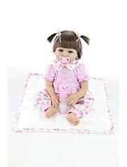 npkdoll生まれ変わった赤ちゃん人形柔らかいシリコーン22inchの55センチメートル磁気口美しいリアルなかわいい男の子の女の子のおもちゃピンクの象