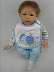 青npkdoll生まれ変わった赤ちゃん人形柔らかいシリコーン22inchの55センチメートル磁気口本物そっくりのかわいい素敵なおもちゃの少年