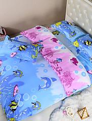 Květinový Polyester / Polybavlna 4 kusy Povlečení